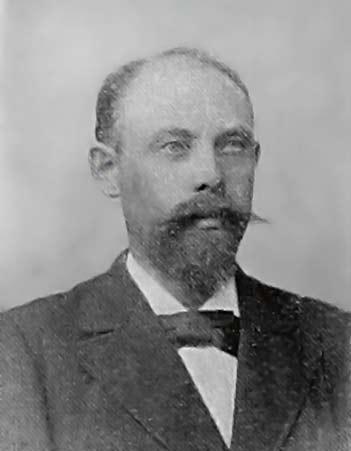 Portre of Skjoldborg, Johan
