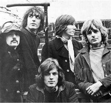 Portre of Pink Floyd