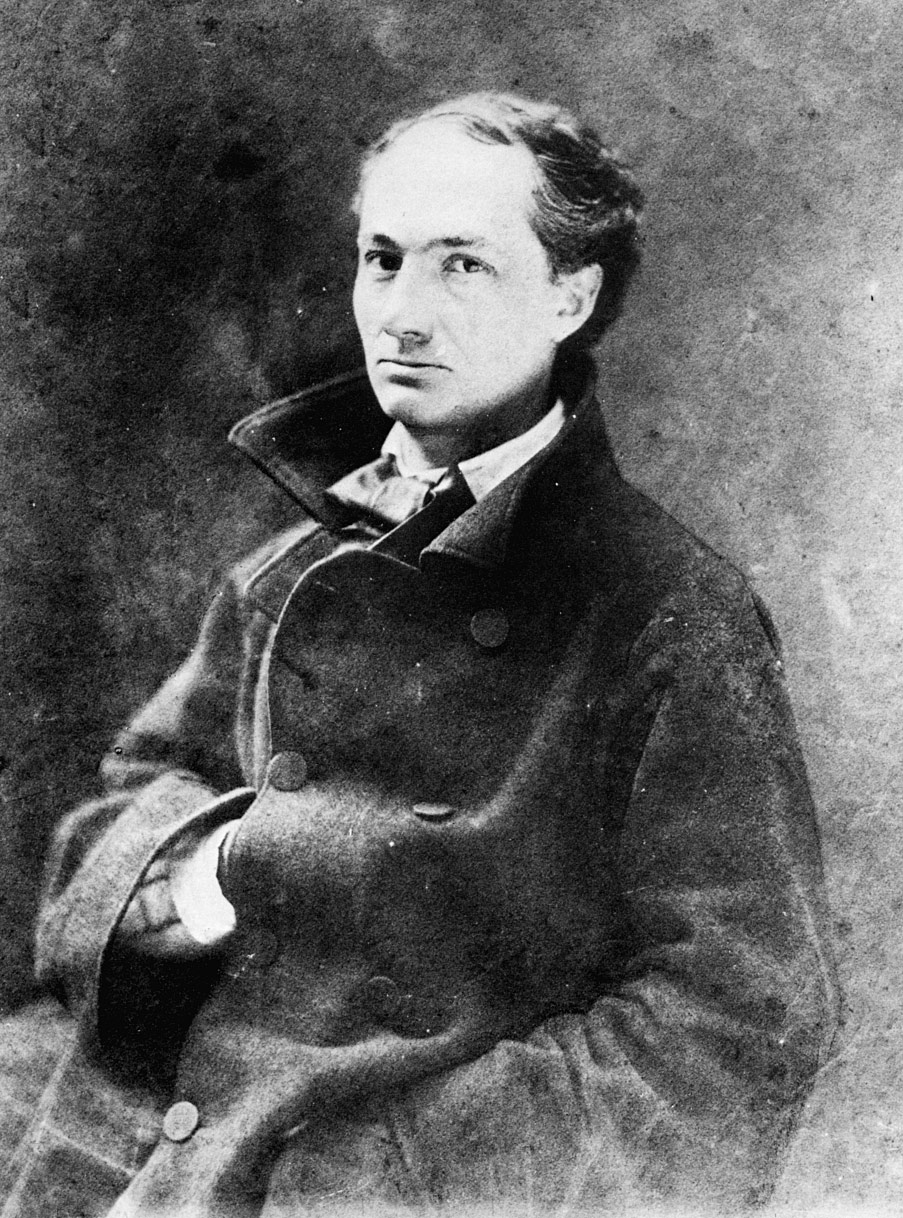 Portre of Baudelaire, Charles