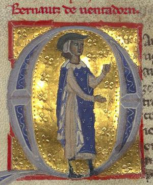 Ventadorn, Bernart de portréja