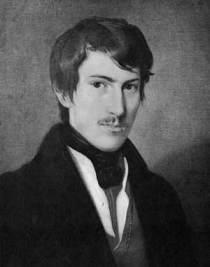 Portre of Lenau, Nikolaus