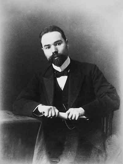 Portre of Brjuszov, Valerij Jakovlevics