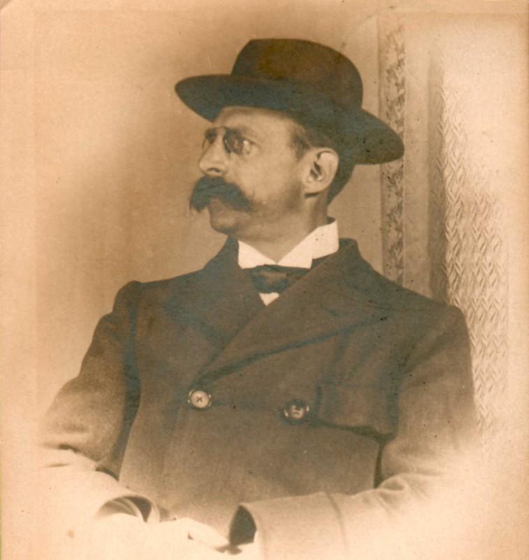 Portre of Lerberghe, Charles Van