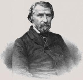 Portre of Turgenyev, Ivan Szergejevics