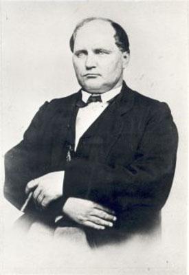 Portre of Jannsen, Johann Voldemar
