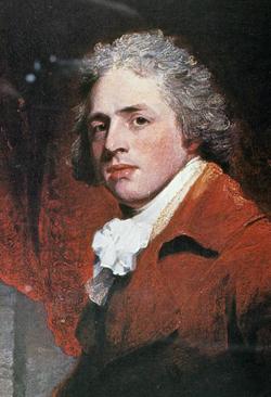 Portre of Sheridan, Richard Brinsley