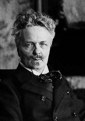 Portre of Strindberg, August
