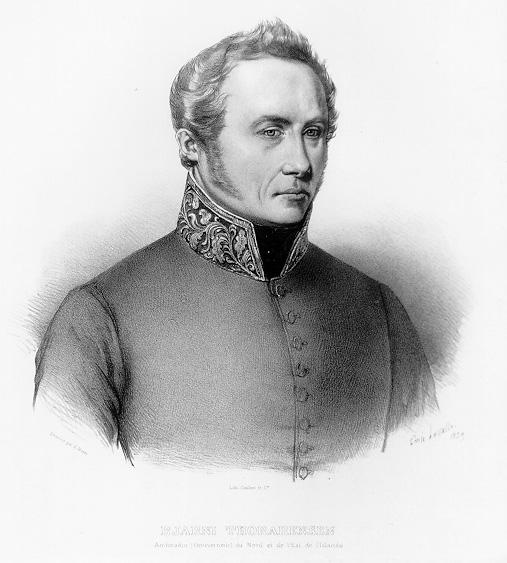 Portre of Thorarensen, Bjarni